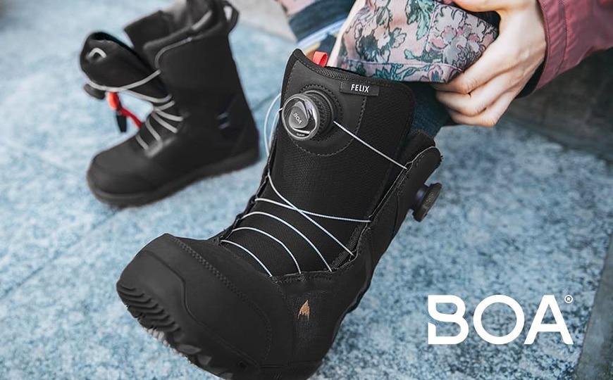 69963073c Snowboardové topánky s BOA systémom